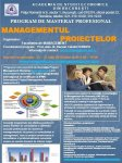 Program de Masterat Managementul Proiectelor