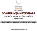 """AMCOR vă recomandă conferinţa naţională  """"ACHIZIŢIILE PUBLICE ÎN ROMÂNIA – Noutăţi legislative. Fondurile europene 2014-2020. Eventuale puncte nevralgice şi remedii""""- 4 aprilie"""