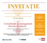 """Conferința AMCOR-BERD """"Consultanță în management. Inovare în afaceri"""""""